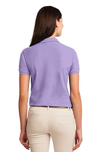 Polo Lavendel Silk Damen heller L500 Port Authority Touch n70E54wIxq