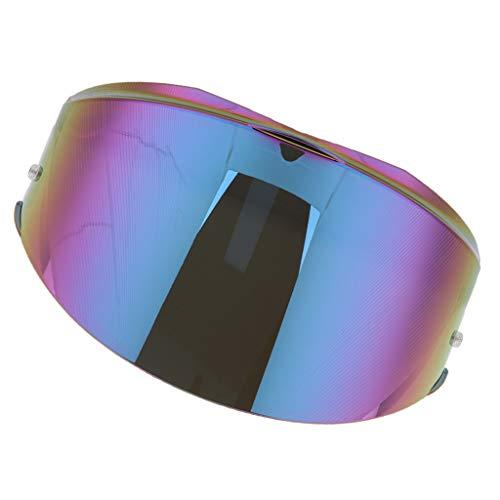 B Blesiya Inserción De Visera Antiniebla Pinlock para Casco Modular LS2 FF399 - Lente Coloreada
