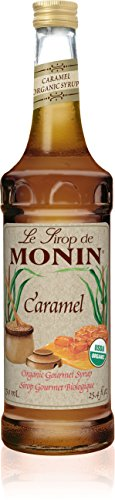 Monin Organic Syrup Caramel - Single Bottle (Caramel Monin)