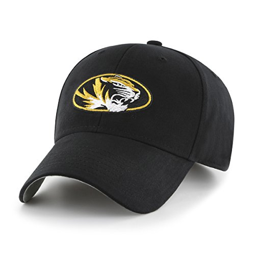 NCAA Missouri Tigers Toddler Cinch OTS All-Star Adjustable Hat, Black, Toddler (Visor Missouri Tigers)