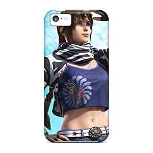 MMZ DIY PHONE CASETpu Case For iphone 4/4s With Michelle Chang Tekken Tag Tournament 2