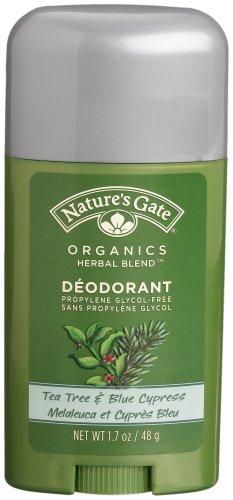 Nature's Gate  Deodorant, Tea Tree & Blue Cypress, 1.7 Ounces (Pack of (Cypress Tea Tree Deodorant)