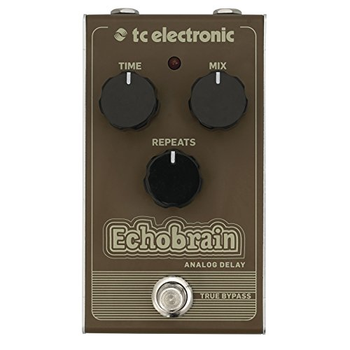 tc electronic Echobrain Analog Delay Vintage Style Pedal with All-Analogue...