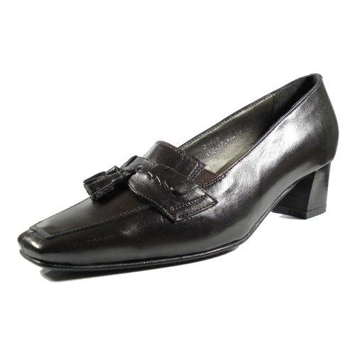 afis shoe-fashion 41542-104 Damen Schuhe Premium Qualität Pumps Braun (Braun)