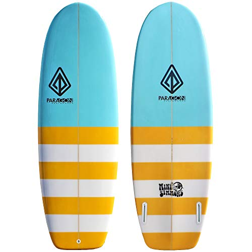 Paragon Surfboards Performance Mini Simmons | Fast & Easy to Ride Surfboard, Ideal to Surf Small to Medium Waves | 5'4…