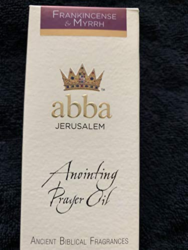 - Abba Anointing Prayer Oil - Frankincense & Myrrh, 1/4 oz