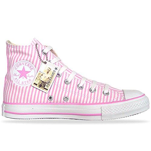Klem Van All Star Schoenen 104.366 Eu 36 Uk 3,5 Roze Roze Wit Limited Edition ...