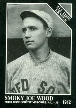 Amazoncom Smoky Joe Wood Baseball Card Boston Red Sox