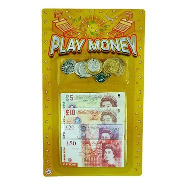 Henbrandt Sterling Toy Play Money Set 4414