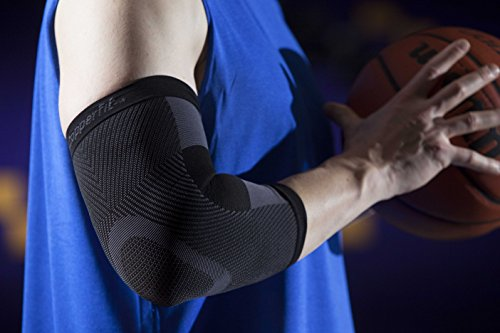 Copper Fit Unisex Advanced Support Elbow Sleeve, Large by Copper Fit (Image #4)