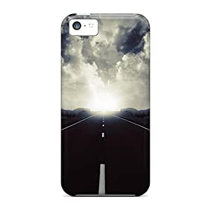 Hot Design Premium KGl8815IySz Cases Covers Iphone 5c Protection Cases(beauty Of An Open Road)