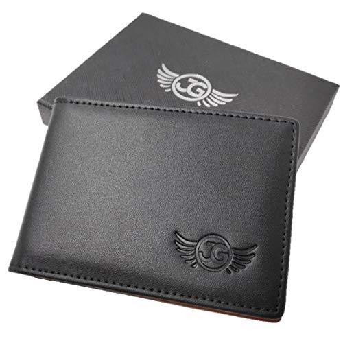 Front Pocket Wallet for Men by Jim Guyver- Bifold Genuine Leather Wallets - RFID Blocking - Minimalist Slim Wallet - Non-Magnetic Money Clip - Thin Card Holder