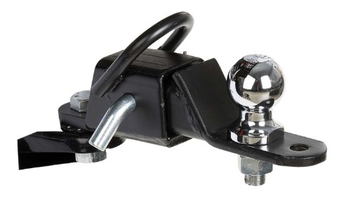 Coleman MadDog GearThree Way 2 Inch Receiver Hitch (3 Way Atv)