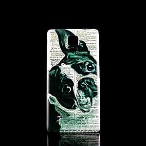 GX Teléfono Móvil Samsung - Cobertor Posterior - Gráfico - para Samsung Galaxy Note 4 Plástico )