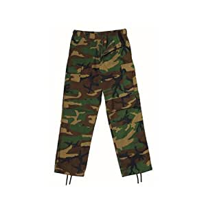 Rothco Ultra Force BDU Pants - Woodland Camouflage - Long - X-Large Long [Misc.]