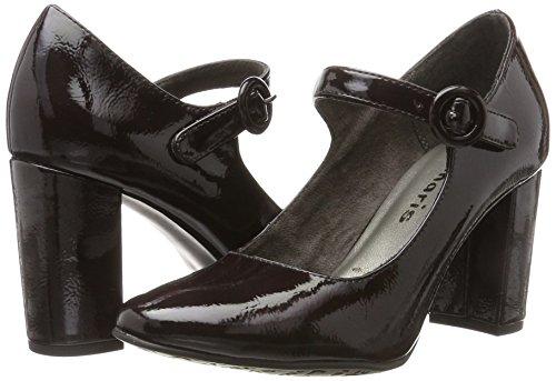 Rojo Sintético Material Mujer Cerrados 24413 Zapatos De Tacón merlot Tamaris 8w6UqAg