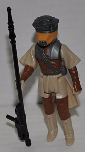 Vintage Princess Leia Organa (Boushh Disguise) with Weapon (1983) - Star Wars Universe Action Figure - Collectible Replacement Figure Loose (OOP Out of Package & Print) -