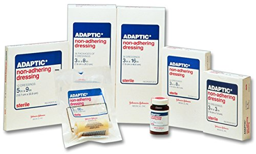 Adaptic Non-Adhering Dressing 3 x 3 in./Qty 50