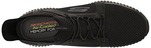 Skechers Mens Elite Flex Fashion Sneaker Nero
