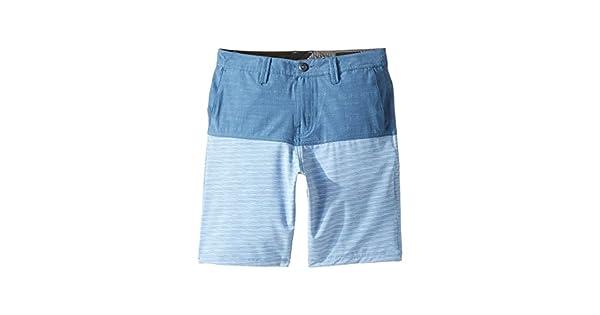 Volcom Kids Boys Frickin SNT Block Shorts 16 Big Kids Smokey Blue 28 Big Kids 18