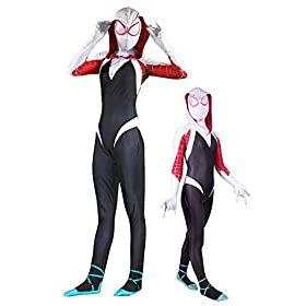 - 41 ewpDW3ZL - Crazycos Adult Kids Superhero Dress Up Costumes Cosplay Spandex Bodysuit Zentai