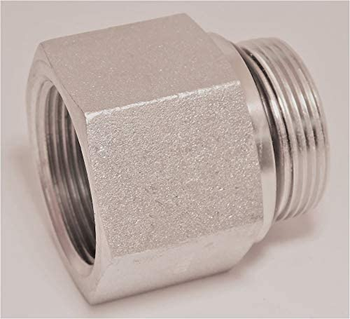 Continental Hydraulic Adapter Fitting OR BOSS Male NPTF Female 1-1//16-12 X 1//2-14