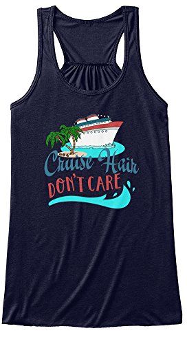 Teespring-Womens-Cruise-Hair-Dont-Care-BELLACANVAS-Flowy-Tank-Top-Large-Midnight
