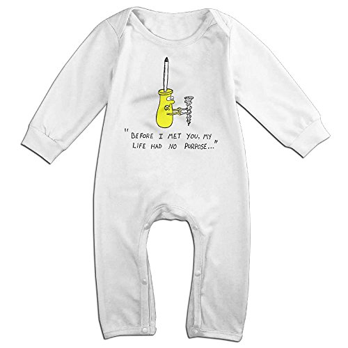 JOYJUN Before I Met You My Life Had No Purpose Cute Newborn Baby Baby Onesies Bodysuits 1 Piece