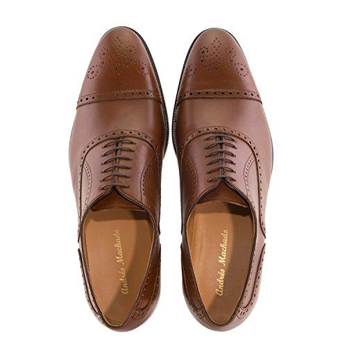 Hommes grandes Machado pour En Pointures In 47 Spain Derby 50 Au Andres Cuero 5969 Du chaussures made Daim AYdwW08q