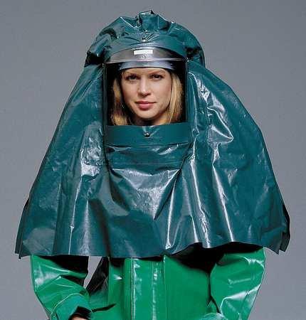 Oberon CS8AFR chemical splash hood, One Size