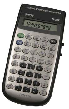Alimed Orion TI-36X, Talking Scientific Calculator - 1 Each