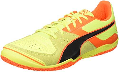 外交官浴室肌Puma Invicto Sala Mens Leather Futsal Soccer Sneakers/Boots [並行輸入品]