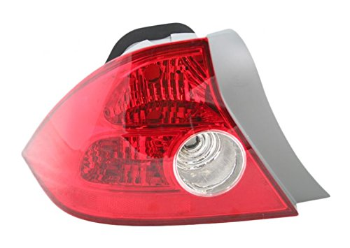- Taillamp Taillight Brake Light Driver Left LH for 04-05 Honda Civic 2 Door Coupe