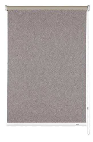 Gardinia 33364 Seitenzug-Rollo Abdunklung, 102 x 180 cm, melange braun