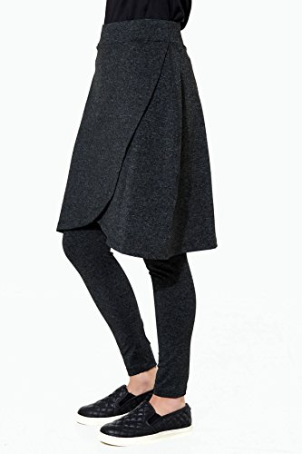Snoga Full Coverage Tulip Skirt with Attached 3/4 Leggings