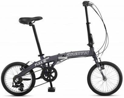 Órbita Bicicleta Plegable Flex 16 - Grafito, Gris: Amazon.es ...