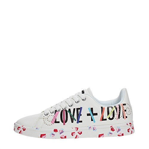 Desigual Sneaker - Shoes_Cosmic Geometry Now - 2018//18SSKP08 Weiß