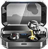 【Bluetooth イヤホン 120時間連続駆動】Bluetooth5.0 完全ワイヤレス イヤホン IPX7完全防水 3500mAh Hi-Fi 高音質 AAC対応 左右分離型 Siri対応 音量調整 ブルートゥース ワイヤレス スポーツイヤホン