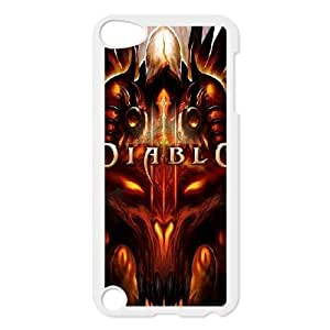 iPod Touch 5 Cell Phone Case White Diablo AFT838202