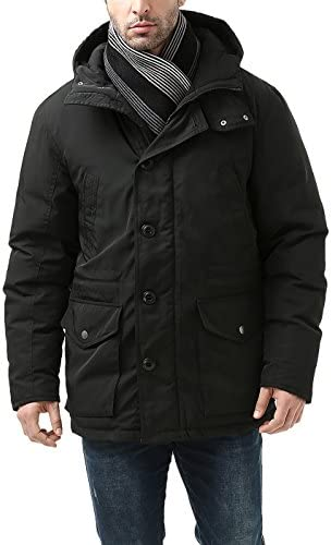 BGSD Men's Tommy Hooded Waterproof Down Parka Coat (Regular and Big & Tall)