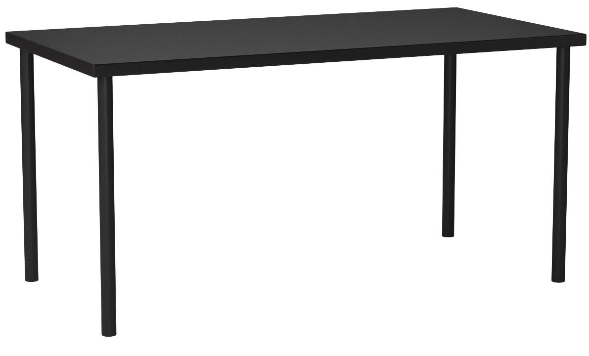 IKEA LINNMON Desk with ADILS Legs Multi Purpose Table Black Brown ...