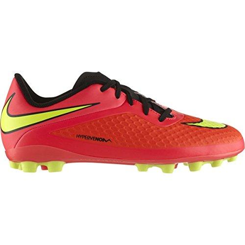 Nike Jr. HYPERVENOM Phelon AG Bright Crimson 599725 690 Negro