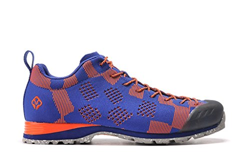 senximaoyi Outdoor climbing shoes breathable steep steps fly line shoes,Blue,6.5