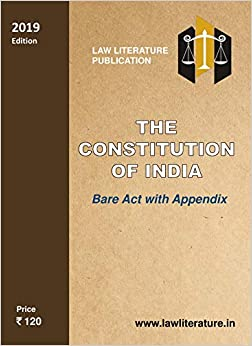 The Constitution of India 9789385540936 Constitutional Law at amazon