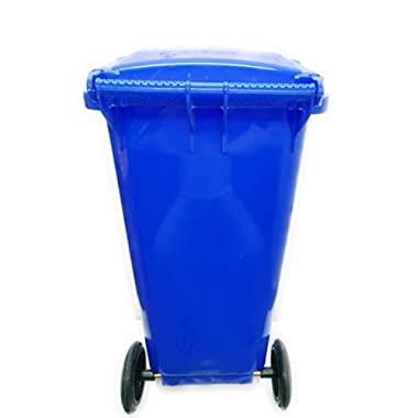 Aristo Wheel Garbage Waste Dustbin 120 Ltr (Blue) 10