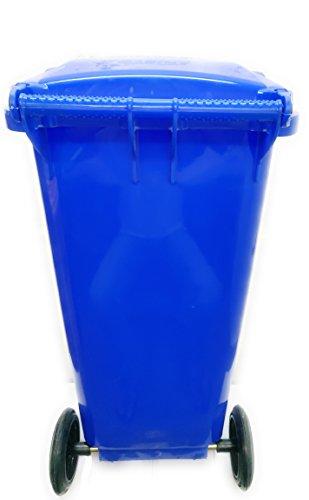 Aristo Wheel Garbage Waste Dustbin 120 Ltr (Blue) 3