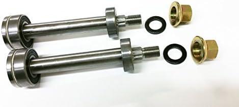 Umlenkrolle SM Schaft Schaft-Kits f/ür 137646 137645/auf 130794/Spindeln Craftsman Set von 2 Top /& Bottom Bearing und der sehr wichtig Spacer Inkl