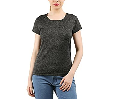 Clifton Womens Active Wear Sports Jersy Casual Half Sleeve R-Neck T-Shirt