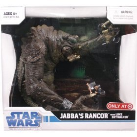 Star Wars Legacy Collection Exclusive Deluxe Battle Pack Jabba's Rancor with Luke Skywalker