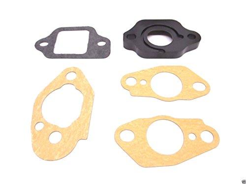 Honda Carburetor Insulator 16211-ZL8-000 and Gaskets 16221-883-800 (x2), 16228-ZL8-000, 16212-ZL8-000 Kit